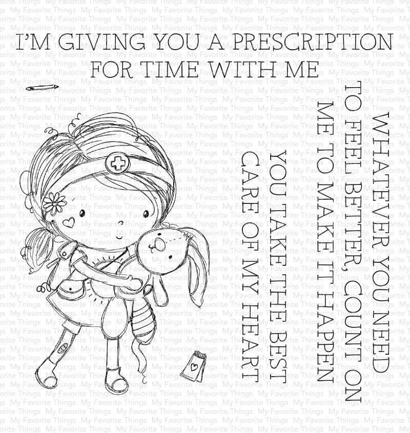 My Favorite Things-Care Of My Heart Stamp & Die Bundle