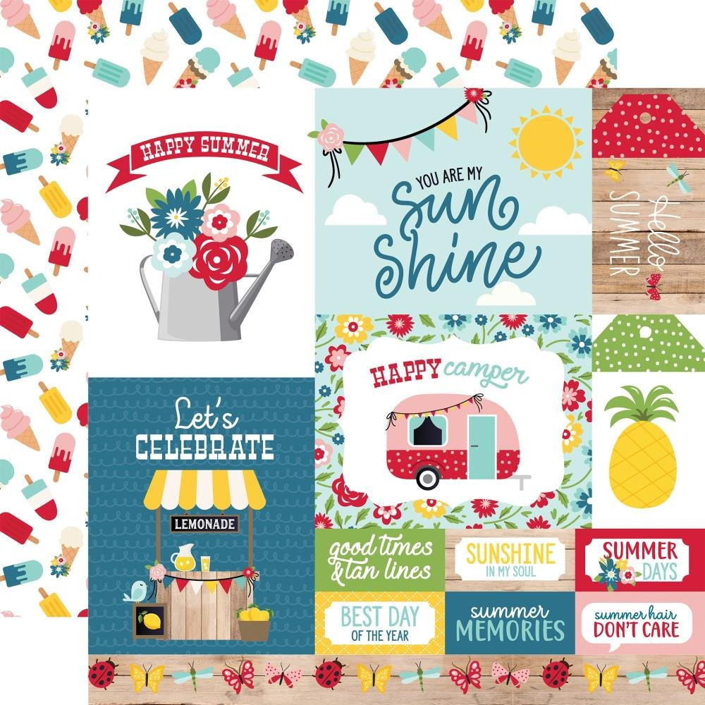 A Slice Of Summer-Multi Journaling Cards