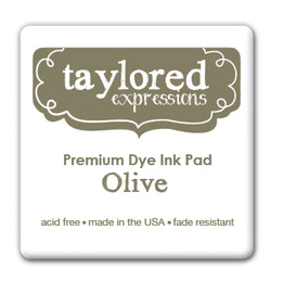Taylored Expressions Ink Cube-Olive