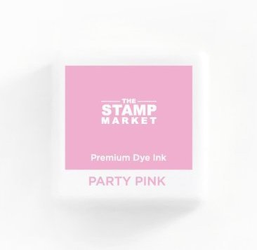 The Stamp Market Ink Cube-Party Pink
