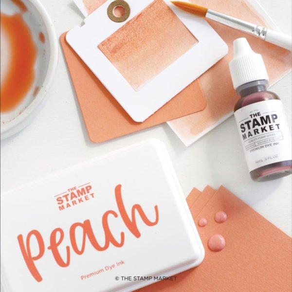 The Stamp Market Ink-Peach