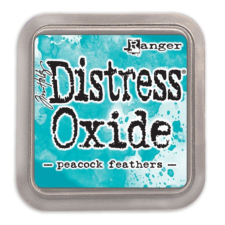 Tim Holtz Distress Oxide Ink-Peacock Feathers