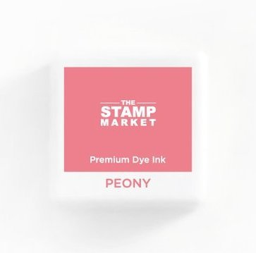 The Stamp Market Ink Cube-Peony