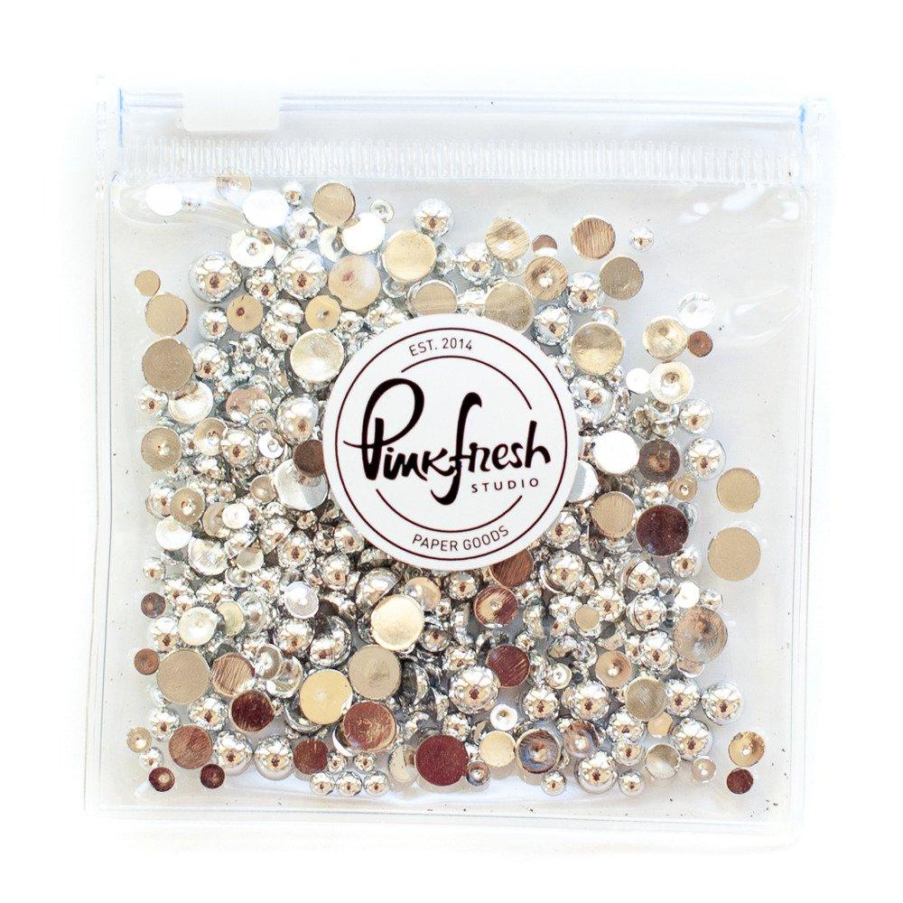 Pinkfresh Studio Pearls-Silver