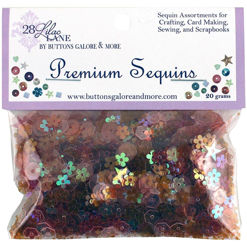 28 Lilac Lane Premium Sequins-Poppy