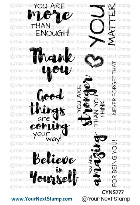 Your Next Stamp-Positive Affirmations Stamp
