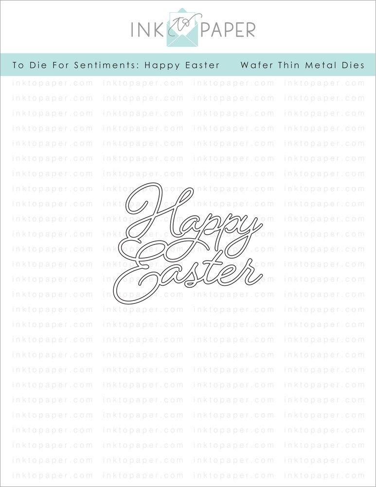 Papertrey Ink-Happy Easter Die