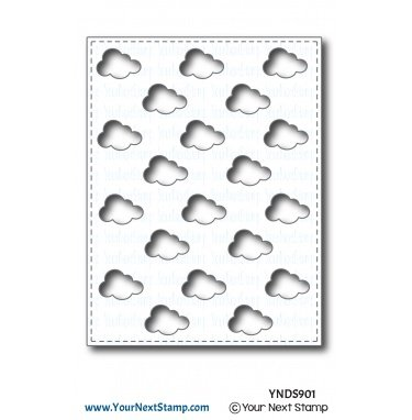 Your Next Stamp-Puffy Cloud Panel Die