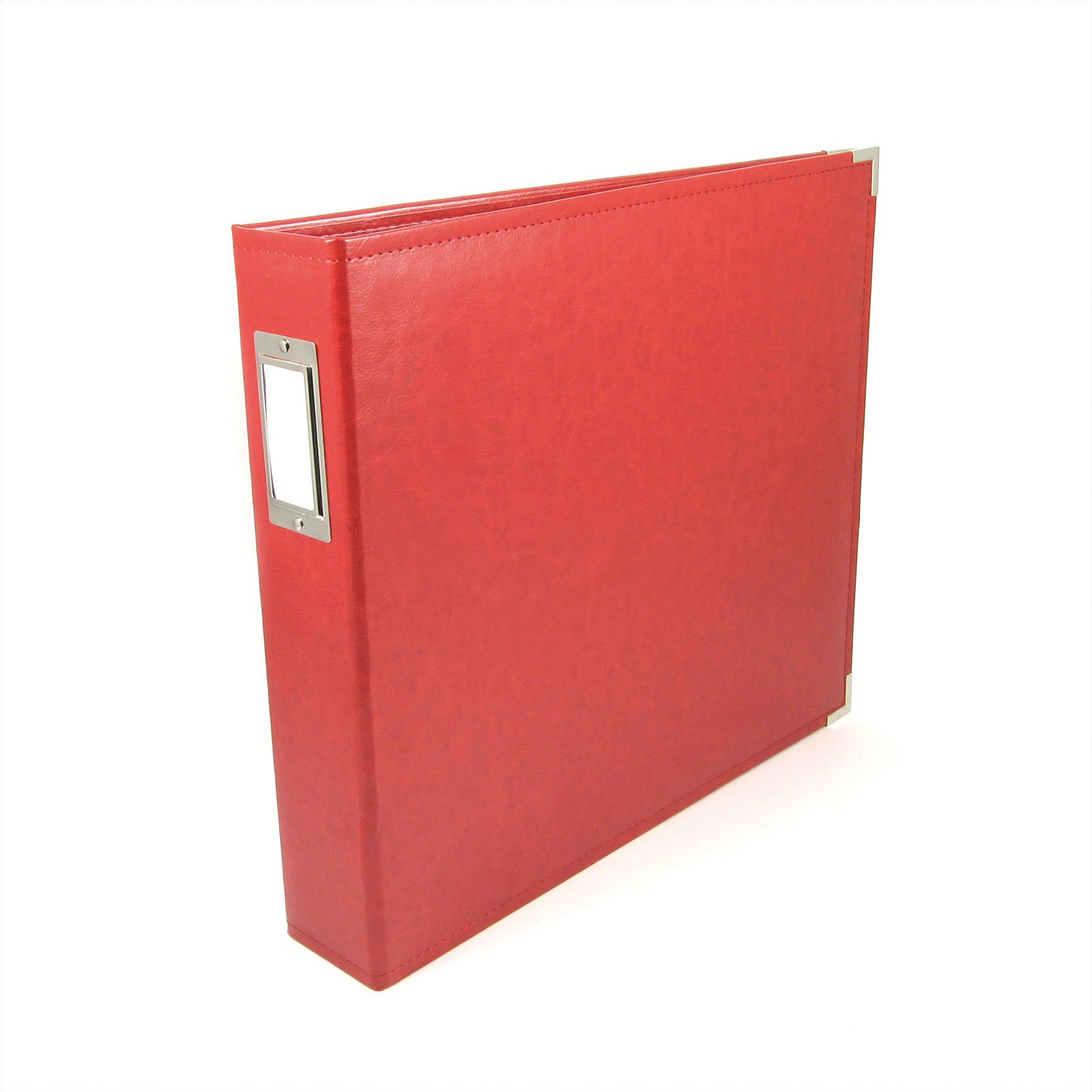 We R Memory Keepers 12x12 Album-Real Red