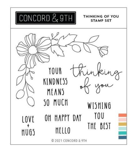 Concord & 9th-Thinking Of You Stamp