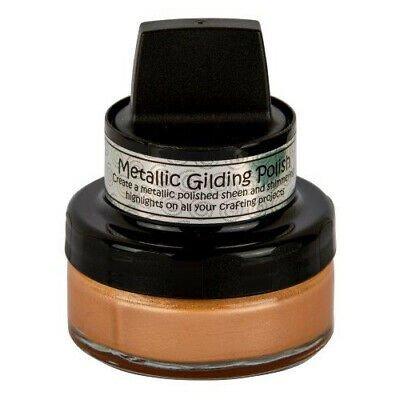Cosmic Shimmer Metallic Gilding Polish-Apricot