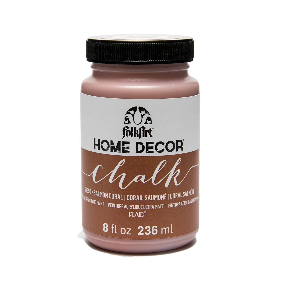 FolkArt Chalk Paint-Salmon Coral