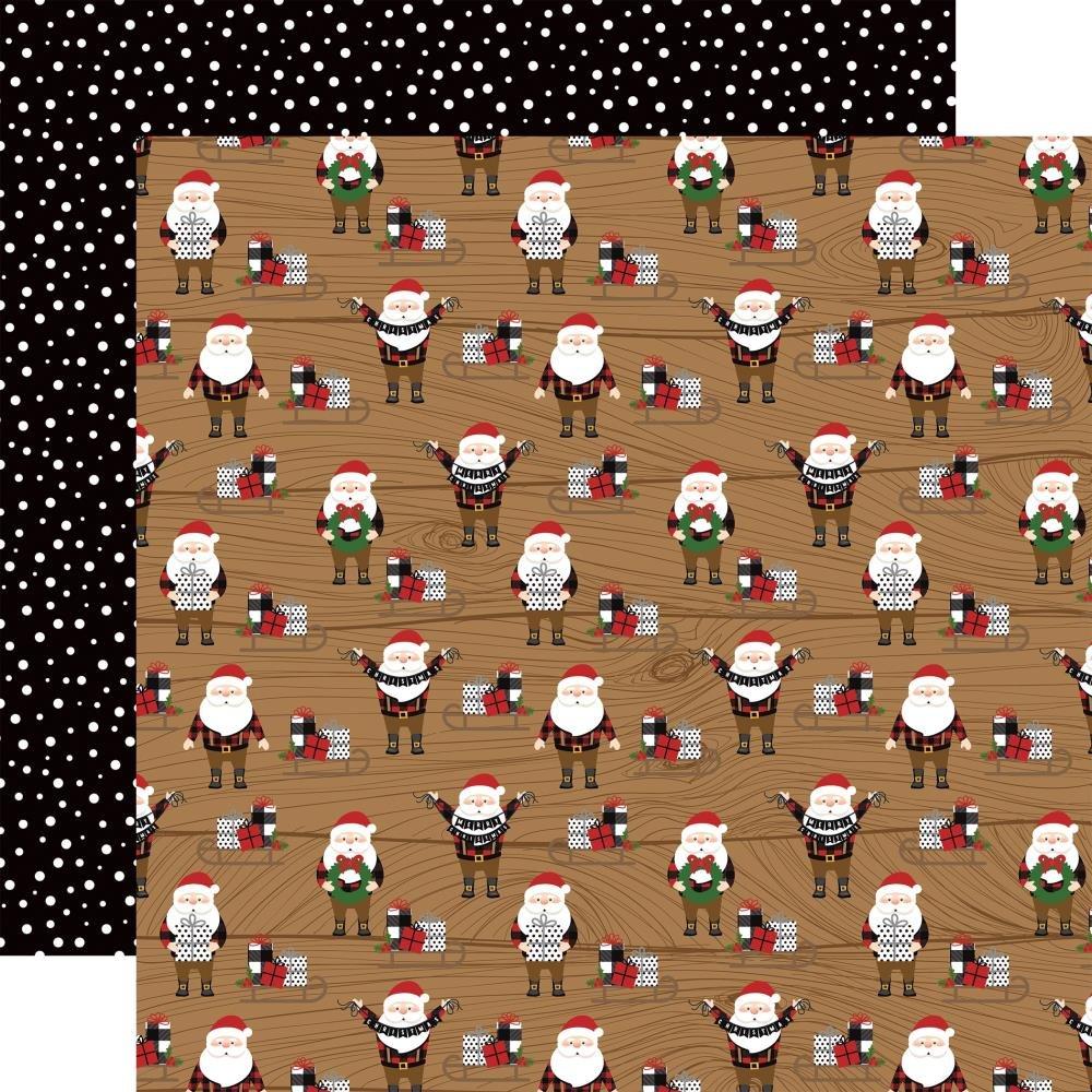 A Lumberjack Christmas-Santas