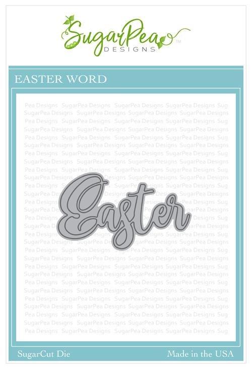 SugarPea Designs-Easter Word Die