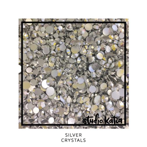 Studio Katia Crystals-Silver