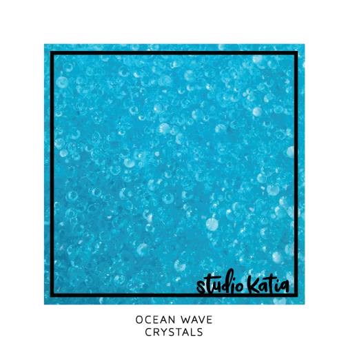 Studio Katia Crystals-Ocean Wave