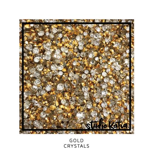 Studio Katia Crystals-Gold
