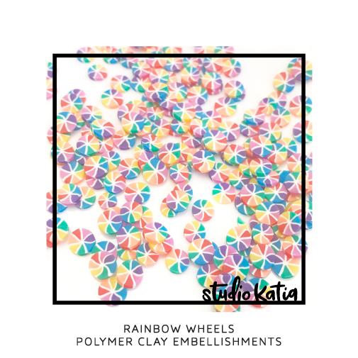 Studio Katia Polymer Clay-Rainbow Wheels