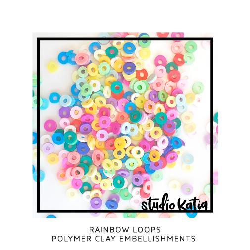 Studio Katia Polymer Clay-Rainbow Loops