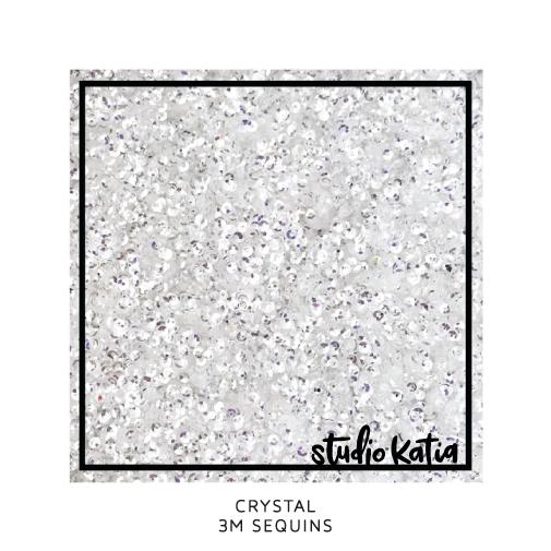 Studio Katia Sequins-Crystal Clear