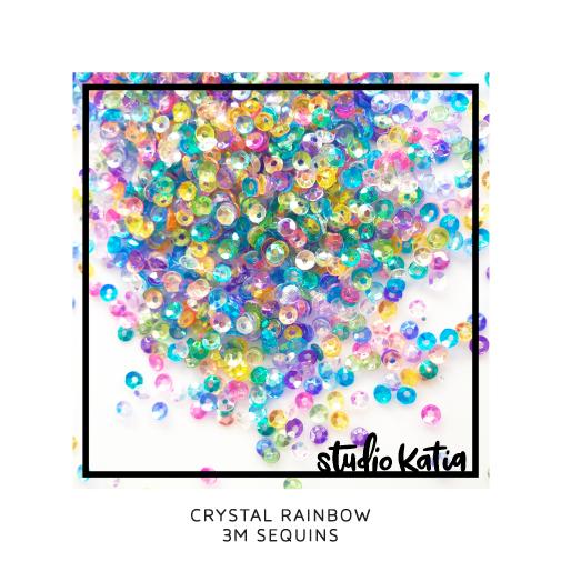 Studio Katia Sequins-Crystal Rainbow