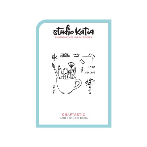 Studio Katia-Craftastic Stamp & Die Bundle