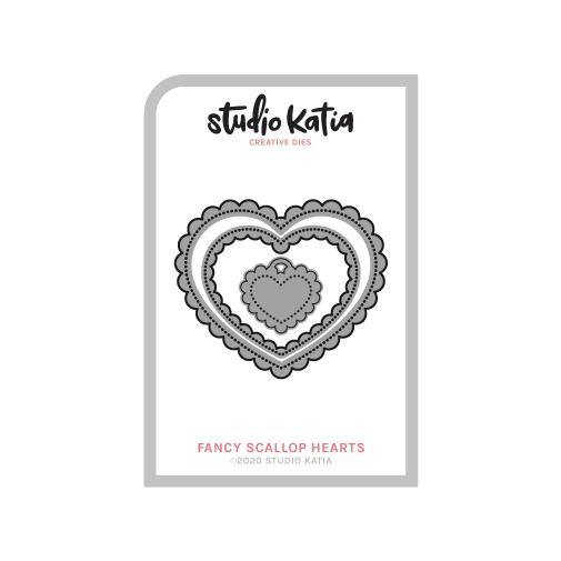 Studio Katia-Scallop Fancy  Hearts Dies