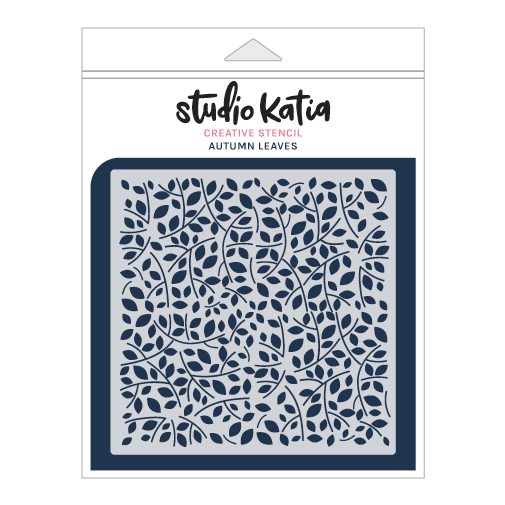 Studio Katia Stencil-Autumn Leaves