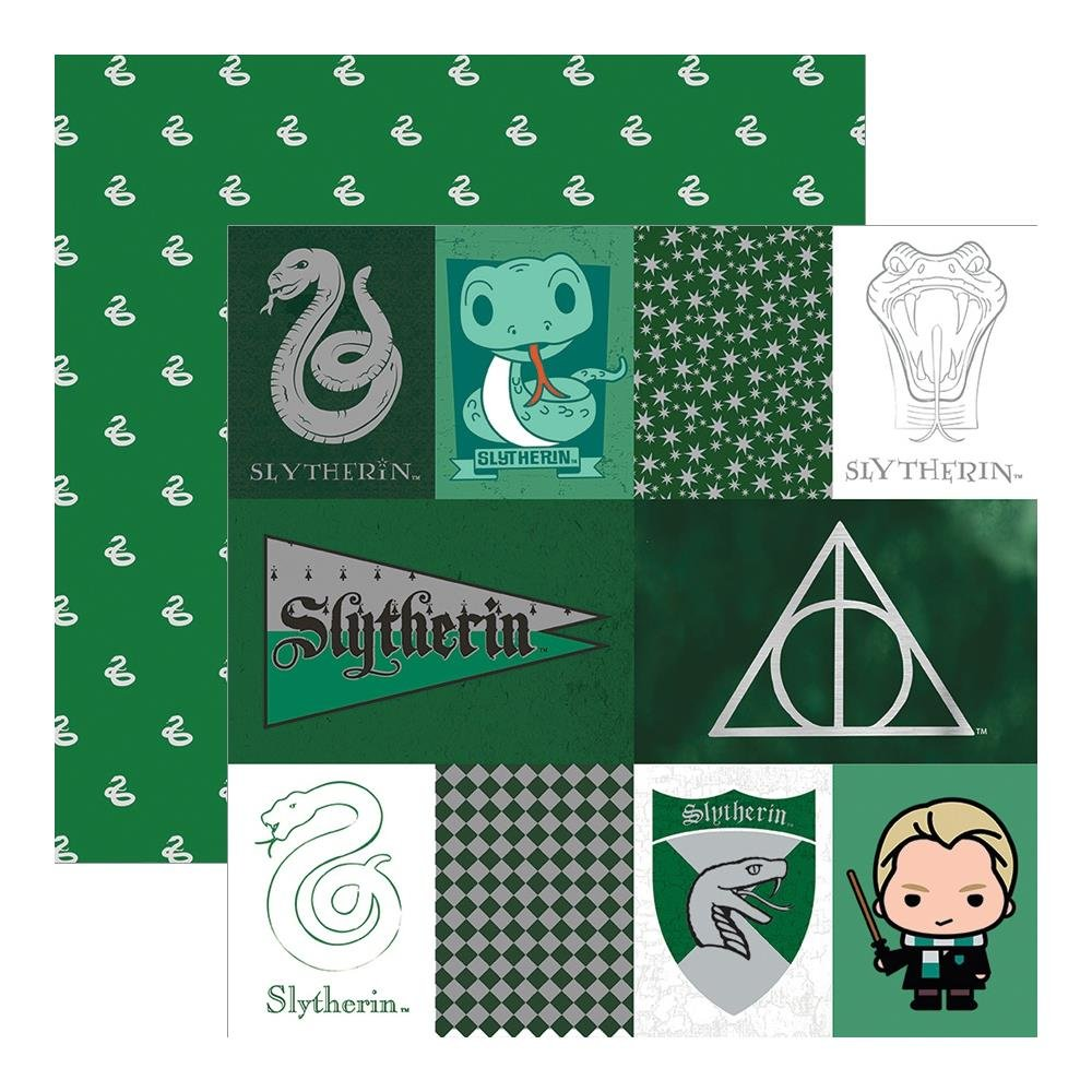 Harry Potter-Slytherin (Foil Accents)