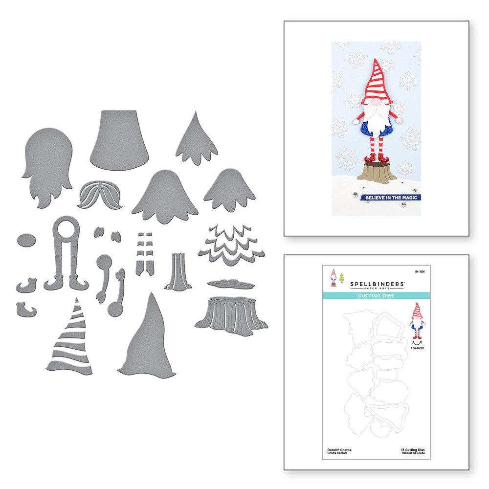 Spellbinders-Dancin' Gnome Die