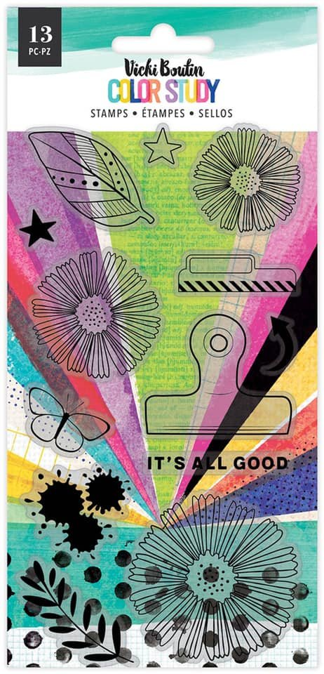 Vicki Boutin Color Study Stamps-It's All Good