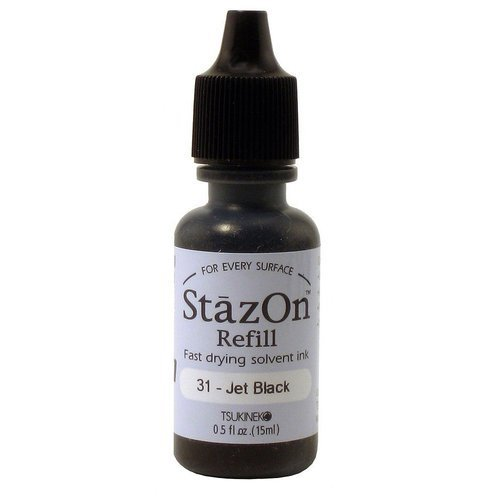 StazOn-Black Refill