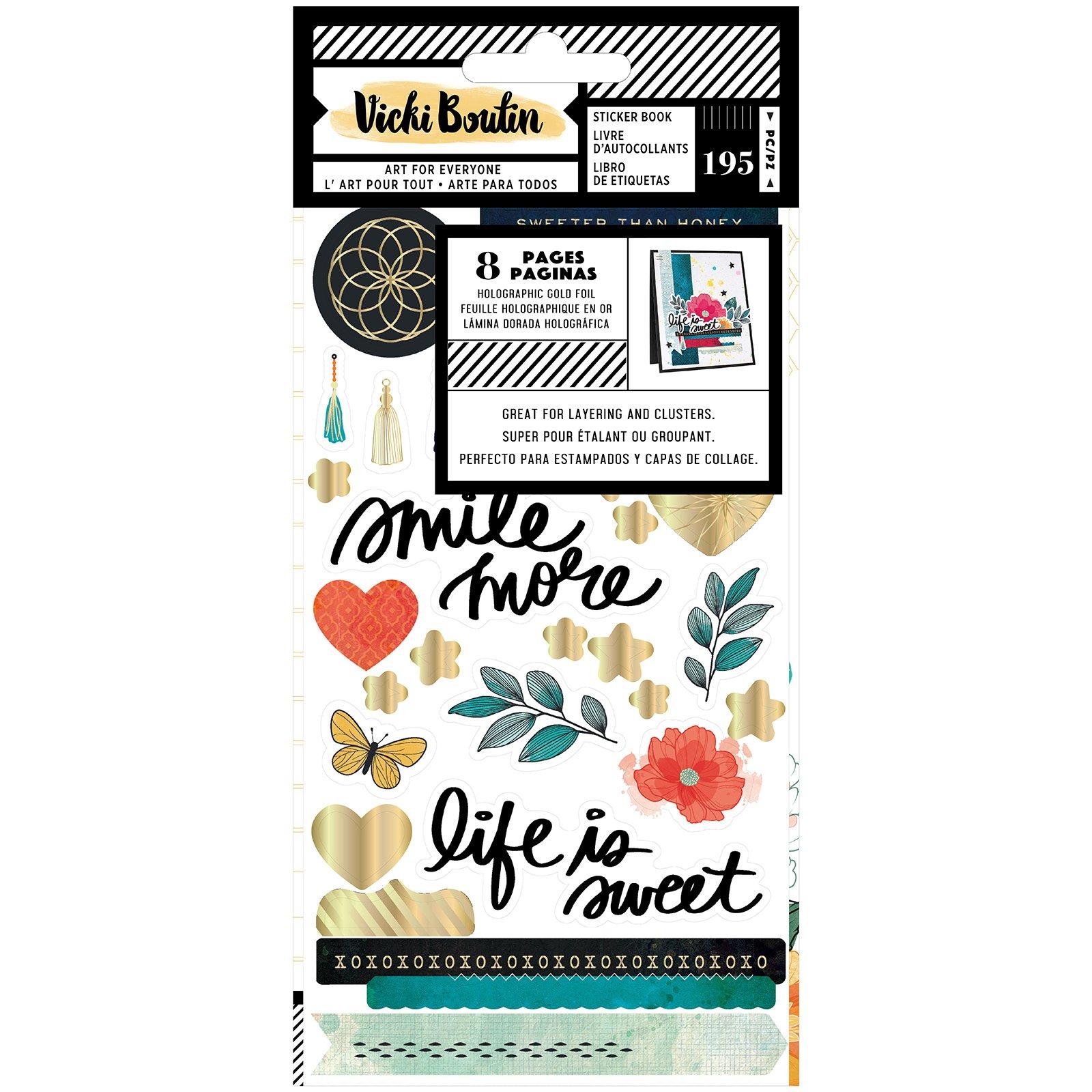 Vicki Boutin Wildflower & Honey-Sticker Book