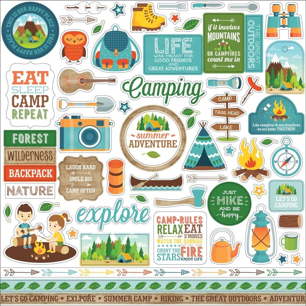 Summer Adventure-Stickers