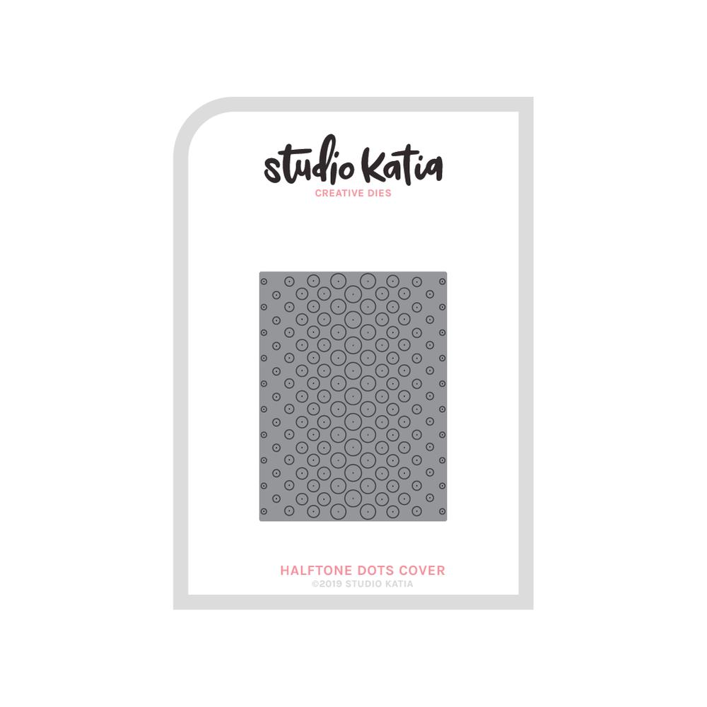 Studio Katia-Halftone Dots Cover Die