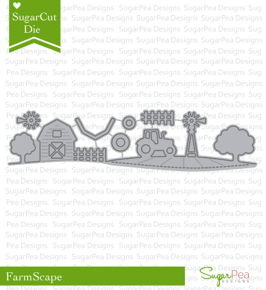 SugarPea Designs-Farmscape Die