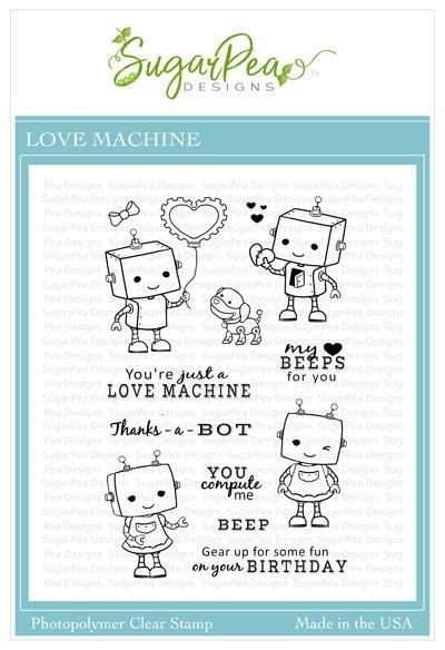 SugarPea Designs-Love Machine Stamp