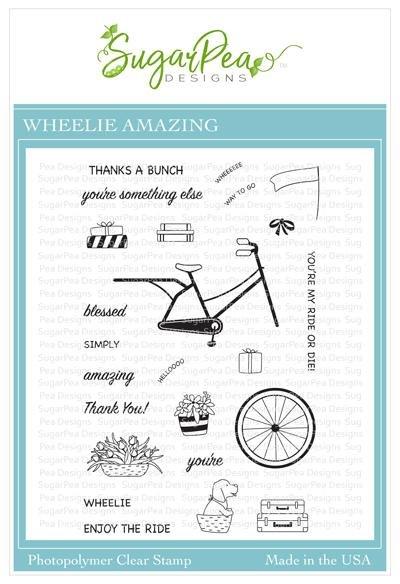 SugarPea Designs-Wheelie Amazing Stamp