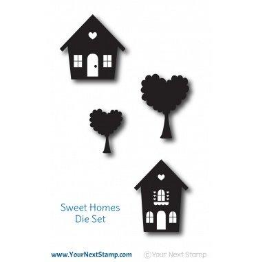 Your Next Stamp-Sweet Homes Die