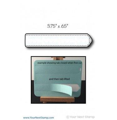 Your Next Stamp-Tear Away Tab Medium