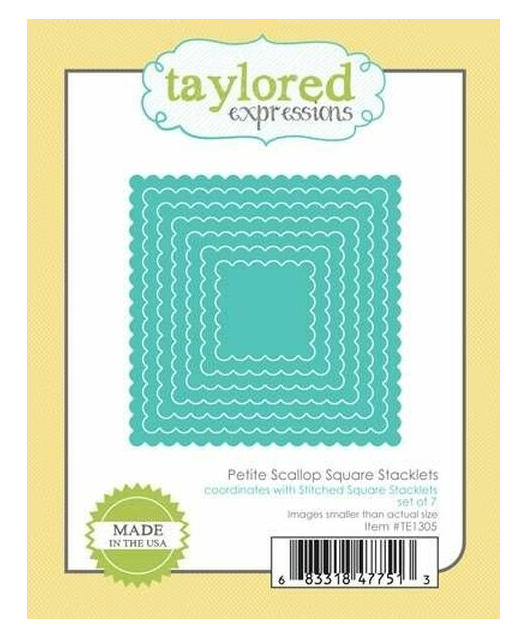 Taylored Expressions-Petite Scallop Square Stacklets