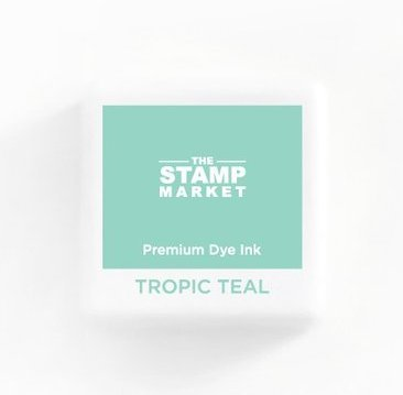The Stamp Market Ink Cube-Tropic Teal