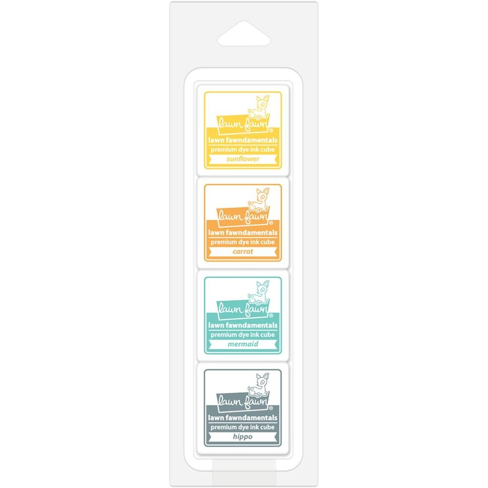 Lawn Fawn Cube Ink Pack-Tropical Island