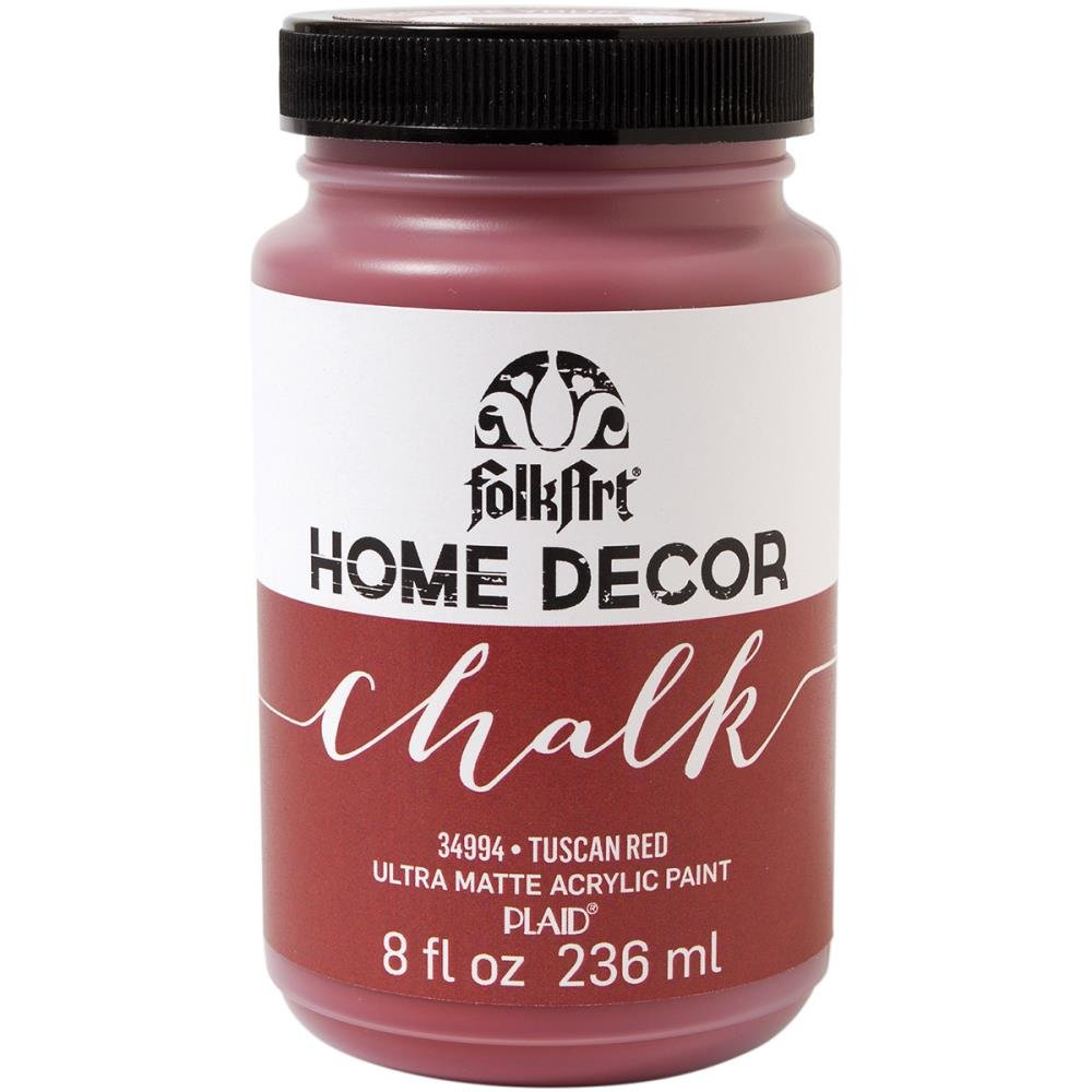 FolkArt Chalk Paint-Tuscan Red