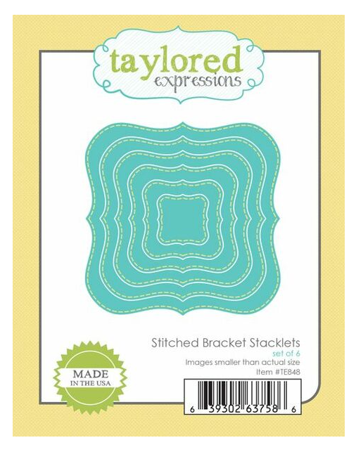 Taylored Expressions-Stitched Bracket Stacklets