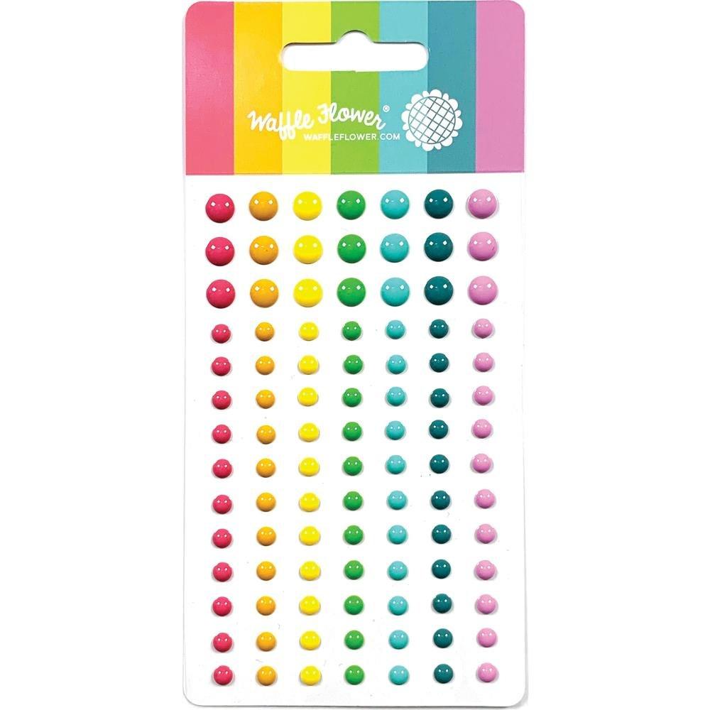 Waffle Flower Enamel Dots-Multicolour