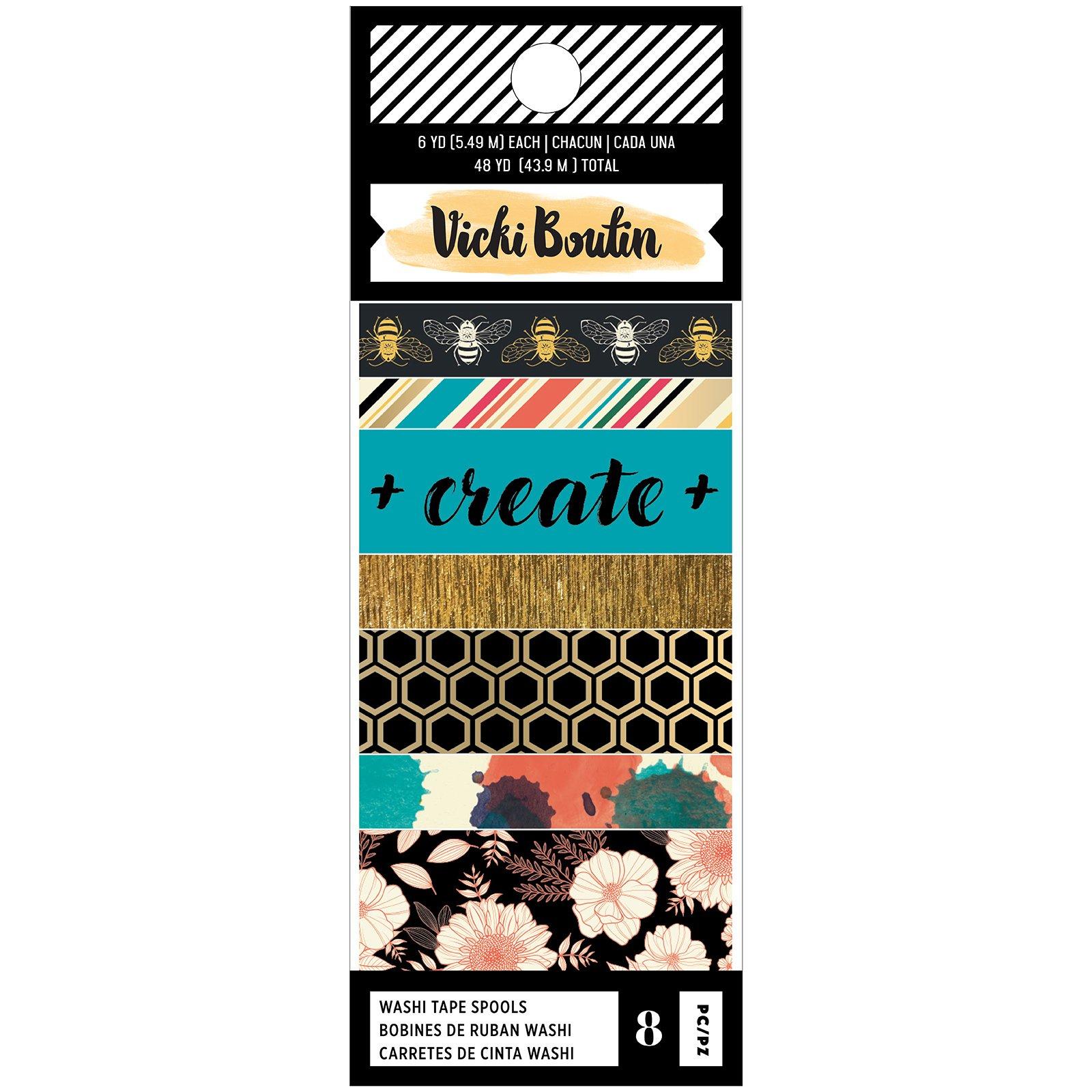 Vicki Boutin Wildflower & Honey-Washi Tape