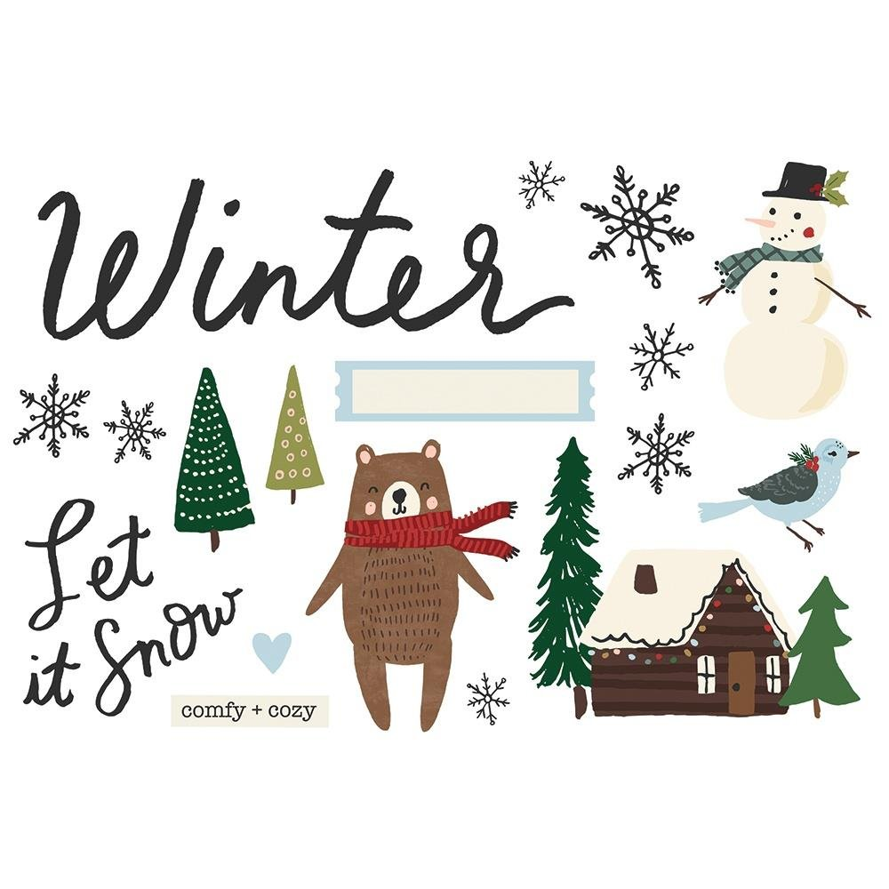 Simple Page Pieces-Winter