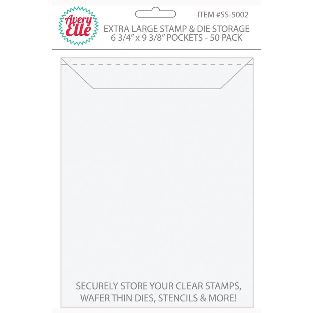 Avery Elle Stamp and Die Storage Pockets-XL