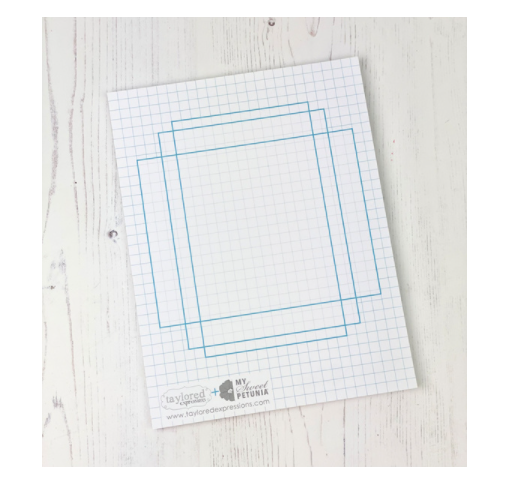 MISTI Double Sided Grid Paper Pad
